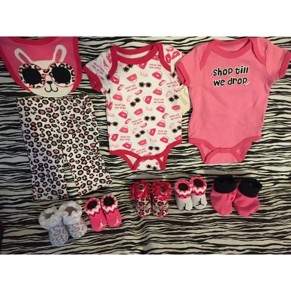 706bd2cc449 Jordan Shoes | Nike Air Girls Baby Booties 06m Bodysuit | Poshmark